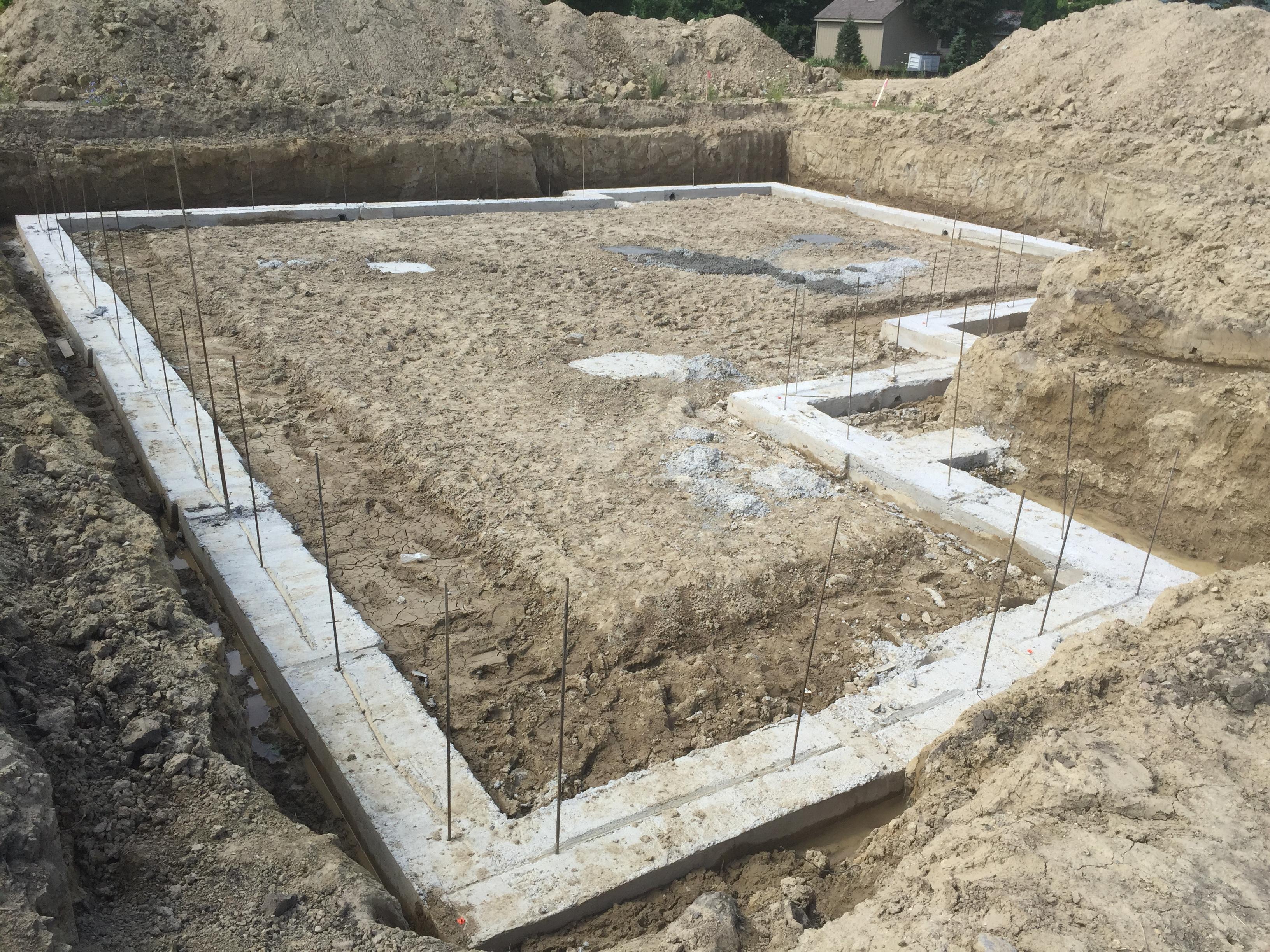 Concrete Foundation Footings Fenton Mi Rock Foundations
