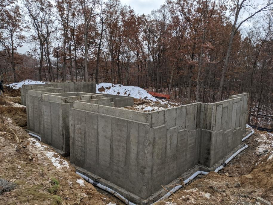 Residential Foundation in Milford, MI