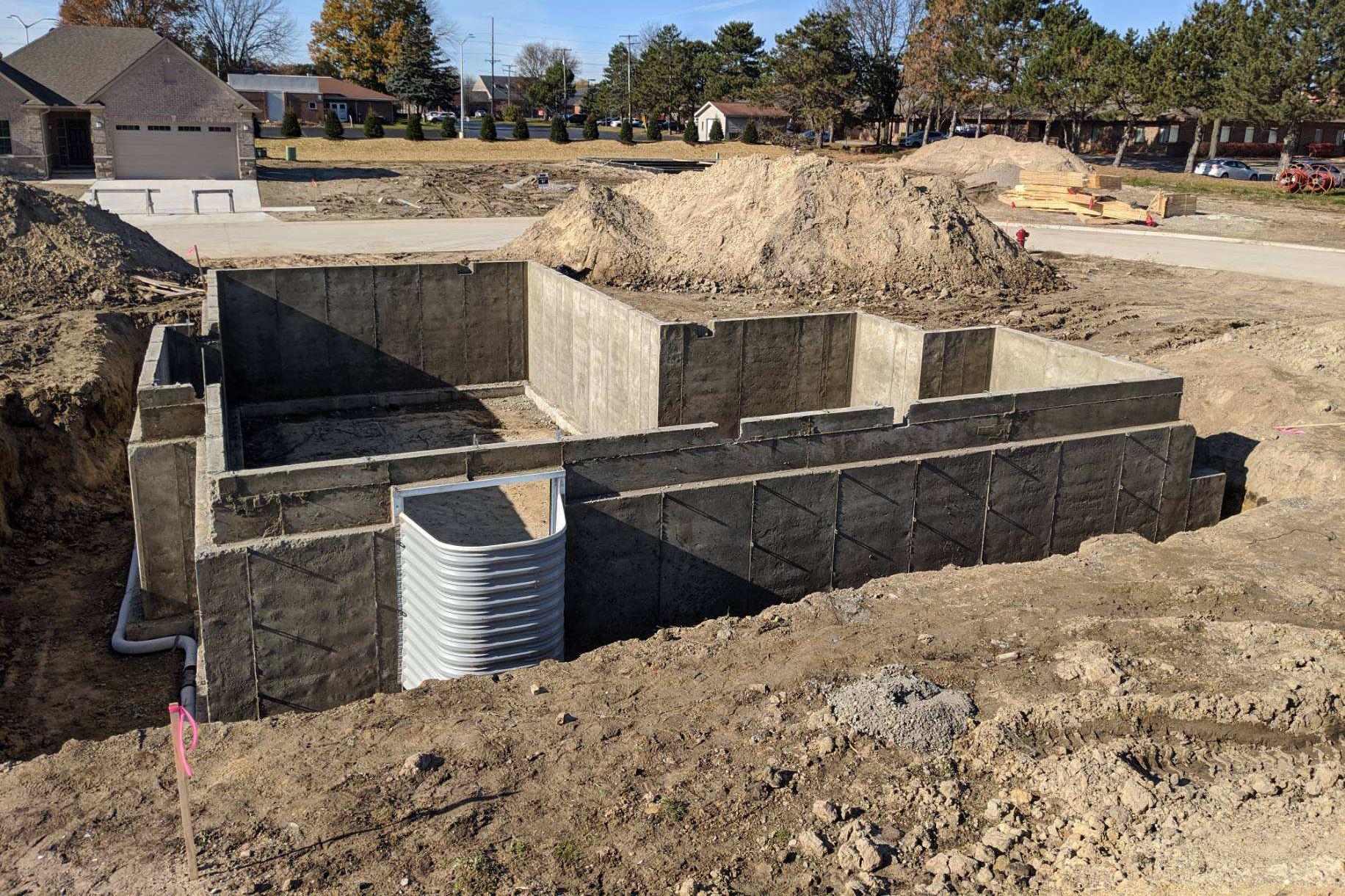 Full Basement Foundation
